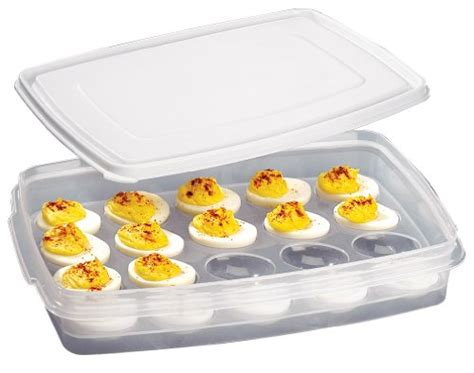 pered chef chillzanne sectional server tupperware deviled egg carrier 0 listings