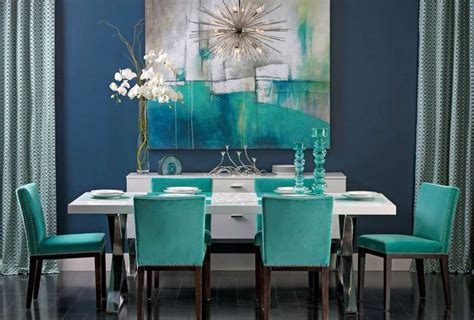 Green Themed Dining Room 246 Best Decorating With Blue Green Images On
