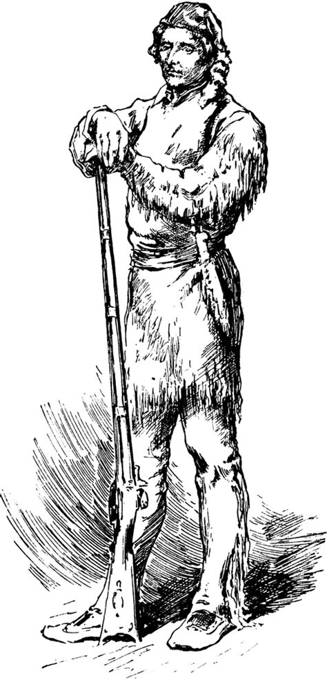 Daniel Boone Pages Coloring Pages Daniel Boone Coloring Pages