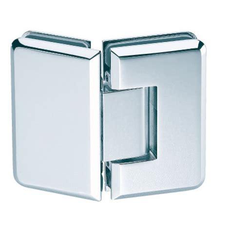 Shower Door Hinges Uk 135 Degree Glass To Glass Shower Hinge Polished Chrome