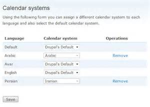Calendar Systems Calendar Systems Drupal Org