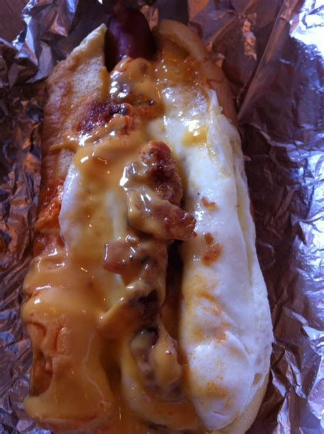 dobbs dawg house morning glory bacon fried egg melted cheese hot sauce glorious yelp