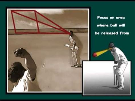cricket ball swing technique how to cricket batting tip focus on the release area