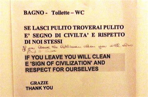 cartelli per bagni puliti frasi per bagno pulito duylinh for