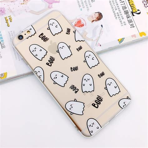 Casingcasecassing Iphone 7 Plus Soft Jelly Small Boo Ghost jual for iphone 7 soft jelly small boo ghost casing premium di lapak herni herni605