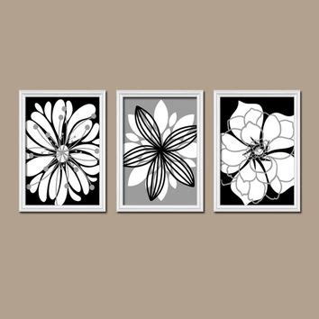 black and white bathroom wall art black and white flower wall art www pixshark com