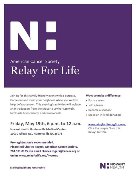 relay for life walking schedule template gallery