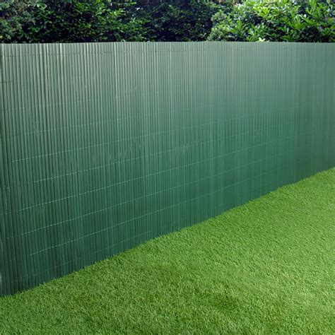 Fence Screening Panels Pvc Garden Fence Plastic Panel Screen Faced Green
