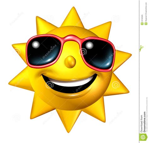 funny hot sun pictures happy sun character royalty free stock photo image 25162925