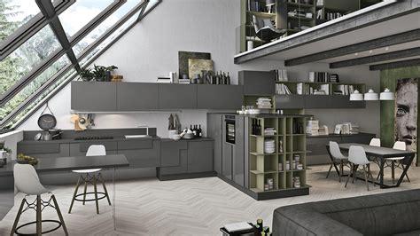 cucina salotto open space cucina open space le soluzioni di lube store per unire