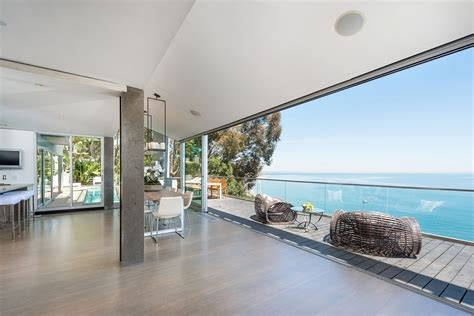 Outdoor Blinds For Deck Modern Malibu Beach House Rooms With A View Modern