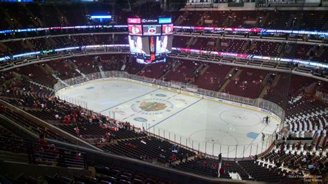 Section 331 United Center by United Center Section 331 Chicago Blackhawks Rateyourseats