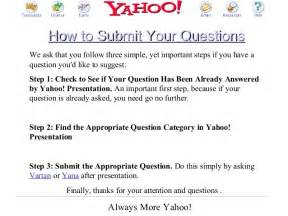 Mendoza Mba Questions by 2002 Mendoza Mba E Commerce Class Presentation On Yahoo
