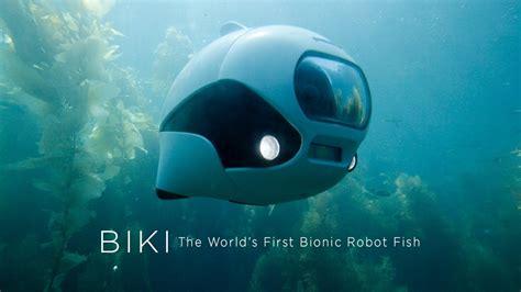 Drone Underwater biki bionic wireless underwater fish drone by robosea kickstarter