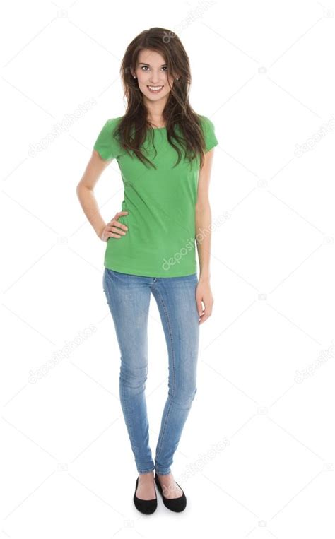 imagenes body html ge 239 soleerde slank jonge vrouw in blauw en groen in hele