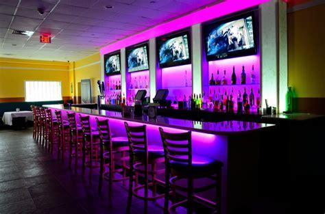 bridgeport tv  led lighting installations  restaurant