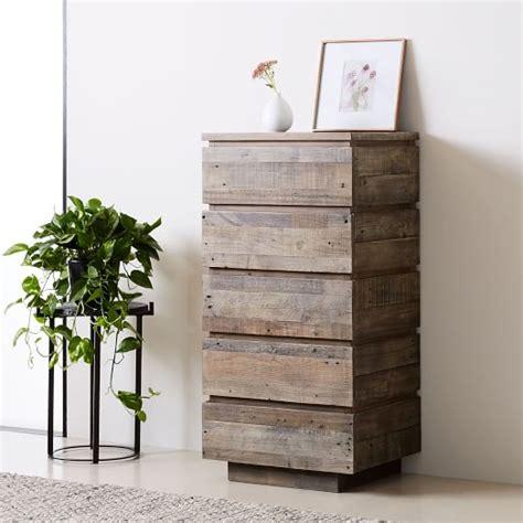 modern reclaimed wood dresser emmerson 174 modern reclaimed wood 5 drawer dresser stone