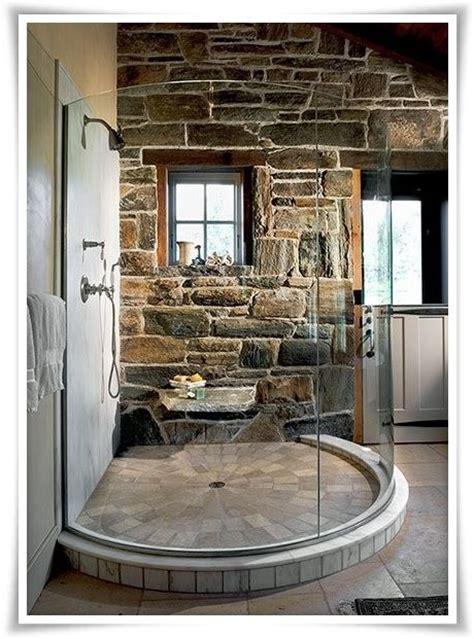 cabina doccia rotonda oltre 20 migliori idee su bagno casa sul lago su