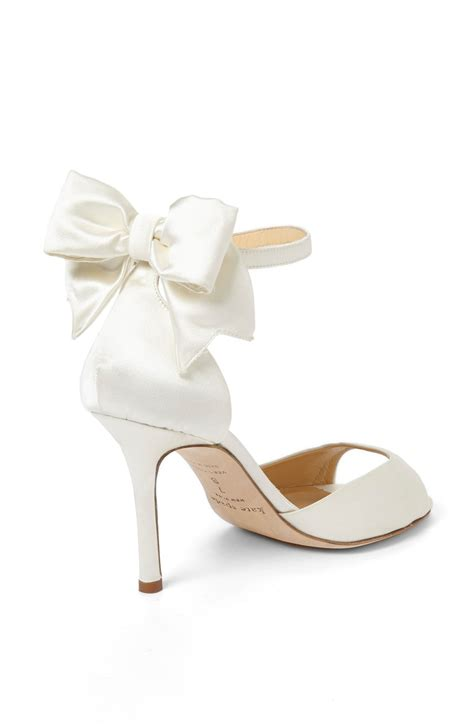 kate spade bridal shoes shoeniverse summer wedding style with kate spade white