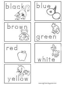 color word worksheets color worksheets