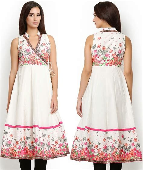 pattern of kurtis 10 best floral print cotton kurtis looksgud in