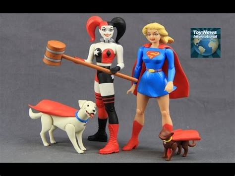 Figure Supergirl Designer Series dc comics designer series darwyn cooke supergirl harley quinn figures review