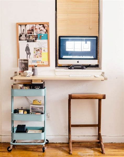Diy Wall Mounted Desks Diy Hanging Desk