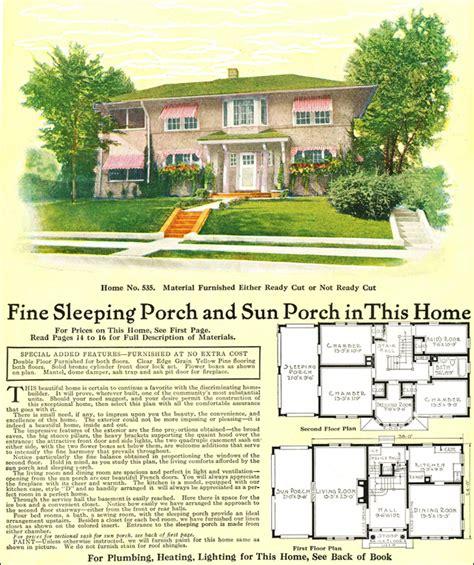 Model No 535 1918 Gordon Van Tine Mediterranean Style Gordon Tine House Plans