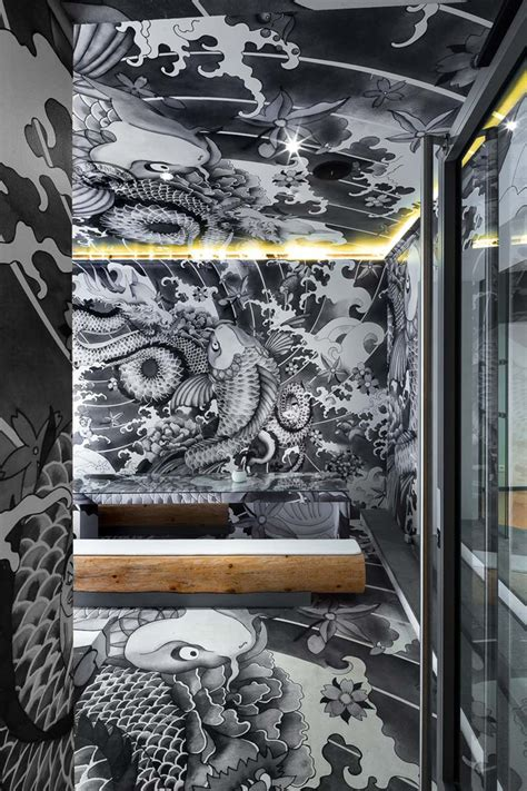 tattoo japanese restaurant vincent coste inks japanese restaurant with yakuza tattoo