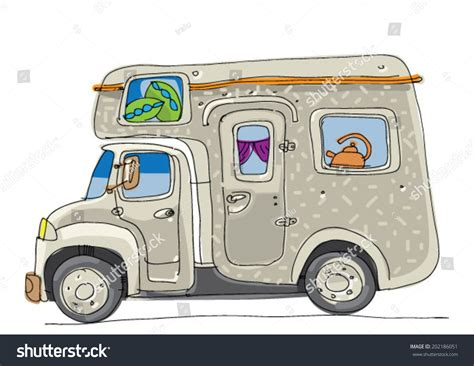 Related Keywords & Suggestions for motorhome cartoon images