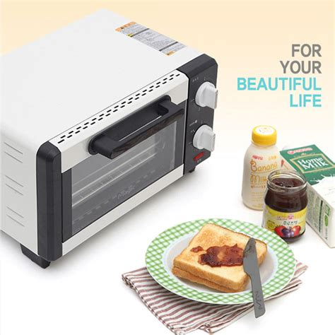 Small White Toaster Magic Mini Toaster Oven Electric Kitchen Small Appliance