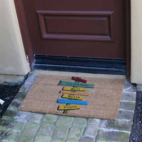 how to properly clean your door mat