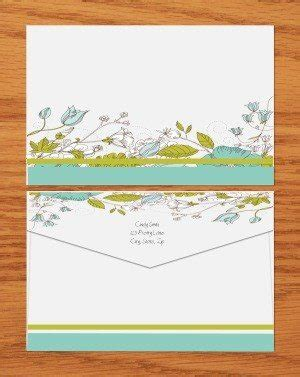 free envelope template customize print at home