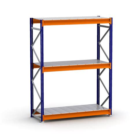 regal gestell bulk rack shelving units with steel decking