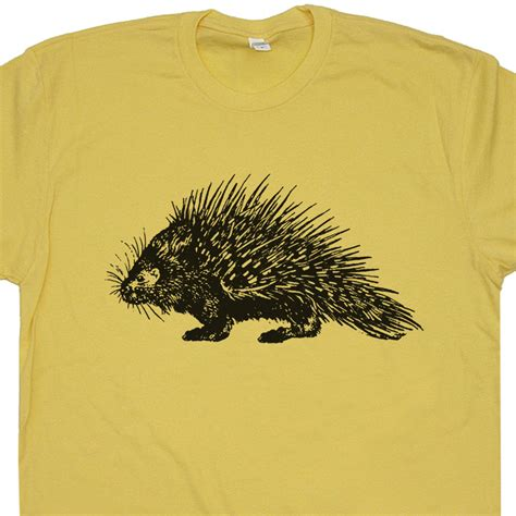 Animal Tees by Porcupine T Shirt Animal T Shirts Vintage Animal