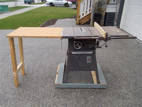 beaver equipment saw bench rockwell beaver table saw surrey incl white rock vancouver