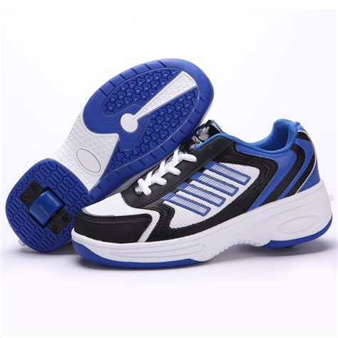 wheelie shoes boys uk size wheelys wheelie roller heel trainers