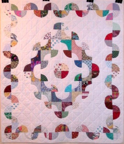 drunkards path pattern quilt variations pic of quilt