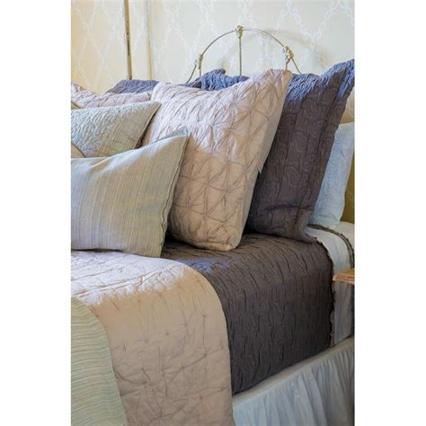 silver coverlet danielle coverlet grey
