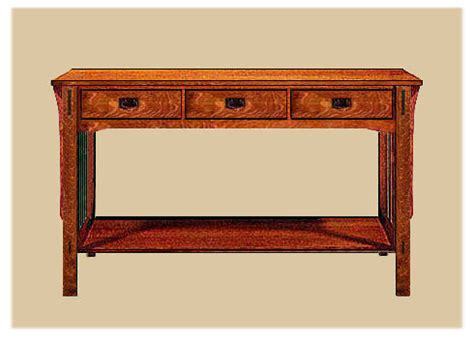 arts and crafts sofa table arts crafts mission style tables limbert table end
