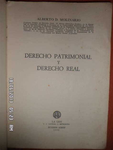 libros peruanos derecho newhairstylesformen2014com derecho patrimonial y derecho real alberto d molinario