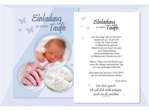 Muster Einladung Taufe Einladung Taufe Taufeinladung Fotokarte