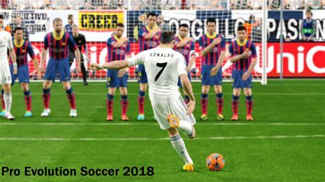 Pro Evolution Soccer 2018 Pes 2018 Pc Version pro evolution soccer 2018 backgrounds hd