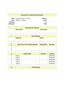 Board Meeting Agenda Template by Board Meeting Agenda Template Best Agenda Templates