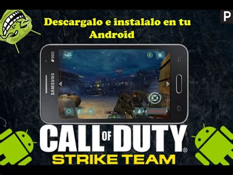 call of duty strike team apk descarga call of duty strike team para android apk datos obb