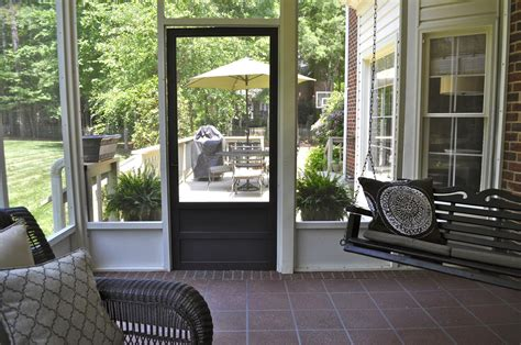 small screened in porch decorating ideas the garden