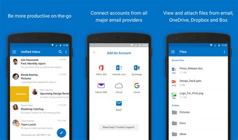 android email setup how to set up email in the outlook for android app