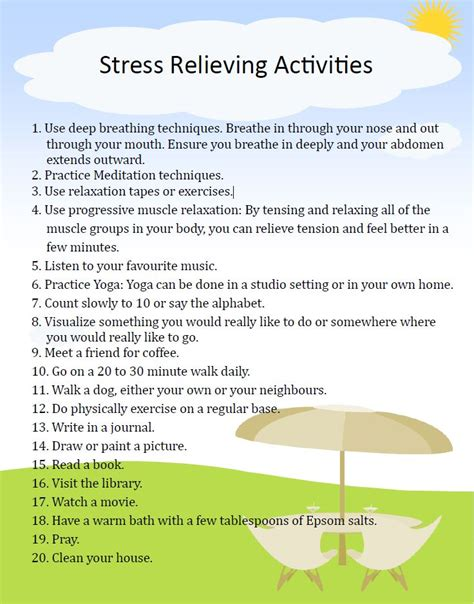 Stress Management Worksheets by Stress Management Activity Images
