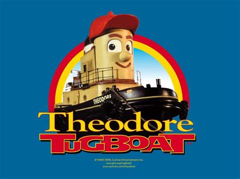 tugboat children s show theodore tugboat 75 episodes kids show pbs 4 dvd set rare