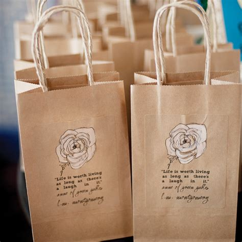 wedding shower gift bags inspired bridal shower bridalguide